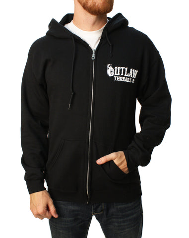 Outlaw Threadz Men's F*ck Terrorism Full Zip Hoodie