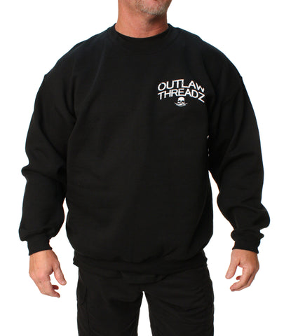 Outlaw Threadz Men's Sticks And Stones Pullover Sweatshirt
