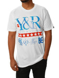 Young & Reckless Men's Tidal Turf Short Sleeve Crew Neck Graphic T-Shirt