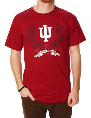 TSI Sportswear Men's Indiana Hoosiers Graphic T-Shirt