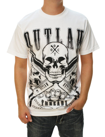 Outlaw Threadz Men's Collector Graphic T-Shirt
