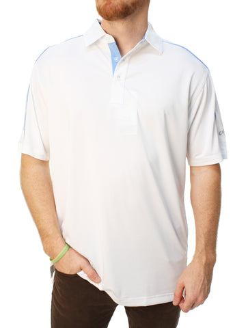 Callaway Golf Men's Opti-Vent Performance Polo With Piping