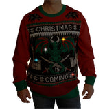 Ugly Christmas Sweater Men's Big And Tall Game Of Thrones LED Light Up Sweatshirt