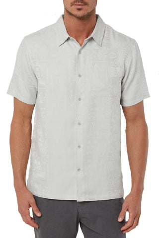 Jack O'Neill Men's Tropics Button Down Short Sleeve Casual Shirt