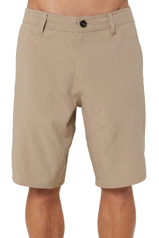 O'Neill Men's Reserve Solid Heather Hybrid Shorts