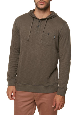 O'Neill Men's Stinson Hooded Henley