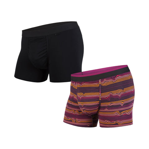 B3NTH By Mypakage Men's Classics Trunk 2-Pack Underwear
