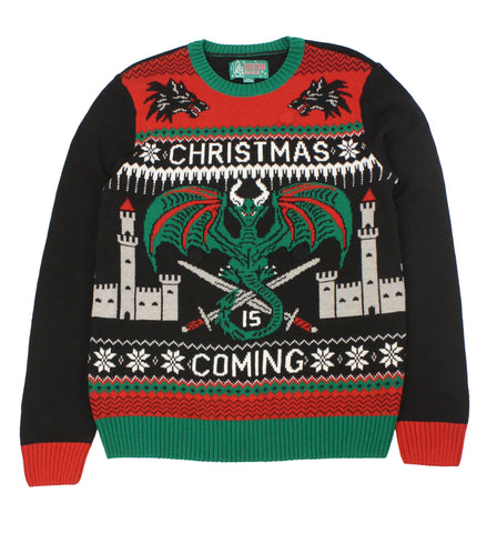Ugly Christmas Sweaters Unisex Xmas Is Coming Game Of Thrones Light Up Sweater