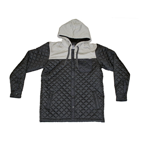 Metal Mulisha Men's Tread Quilted Fleece Jacket