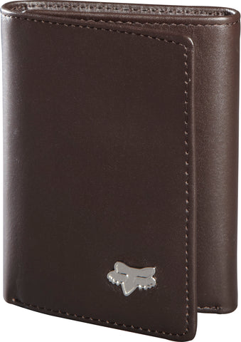 Fox Racing Men's Leather Trifold Wallet
