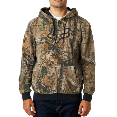 Fox Racing Men's Realtree Unlined Zip Up Hoodie