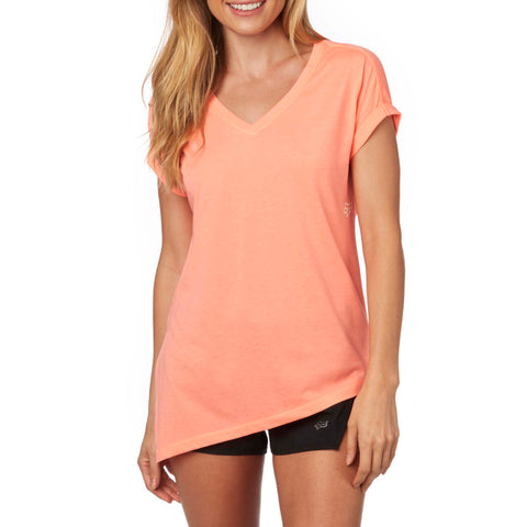 Fox Racing Women's Sharpest Knot Roll Sleeve Top