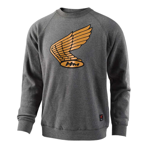 Troy Lee Designs Men's Honda Wing Crew Fleece Sweater