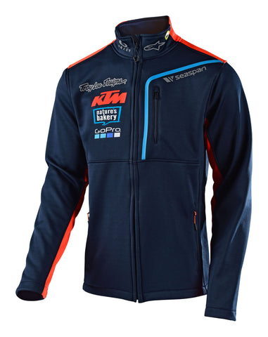 Troy Lee Designs Men's 2018 KTM Team Pit Polar Fleece Jacket
