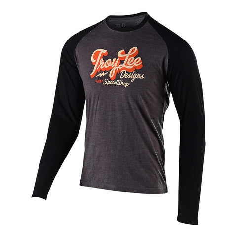 Troy Lee Designs Men's Vintage Speed Shop Long Sleeve Graphic T-Shirt