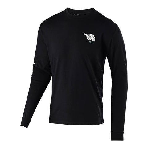 Troy Lee Designs Men's Skully Long Sleeve Graphic T-Shirt