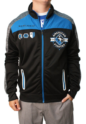American Fighter Men's Full Back Track Jacket