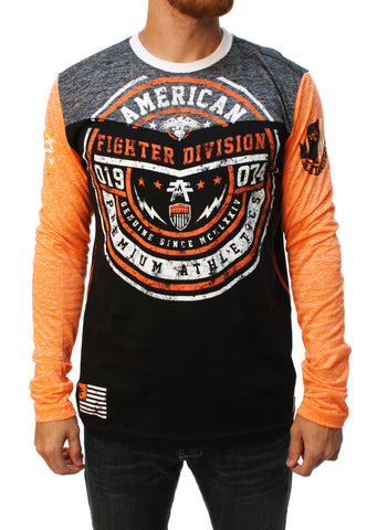 American Fighter Men's Asbury Long Sleeve Graphic T-Shirt