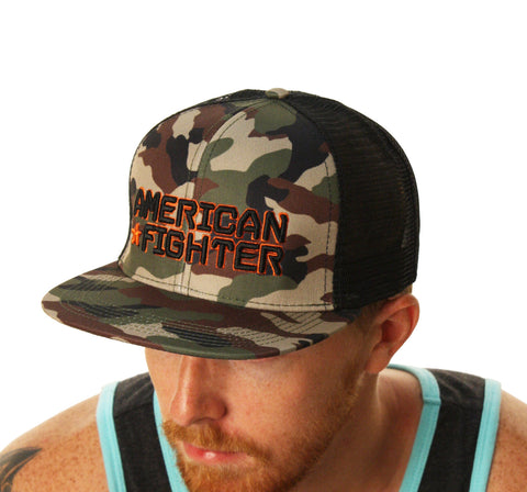 American Fighter Men's Knowledge Trucker Hat