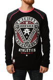 American Fighter Men's Charleston Pattern Long Sleeve Reflective T-Shirt