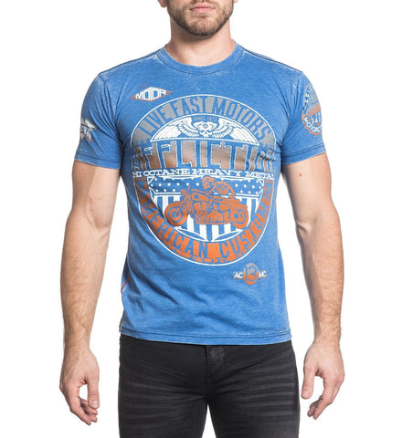 Affliction Men's AC Turnpike Graphic T-Shirt
