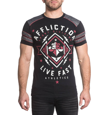 Affliction Men's Path To Victory Graphic T-Shirt