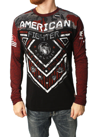 American Fighter Men's Hunter Long Sleeve Graphic T-Shirt