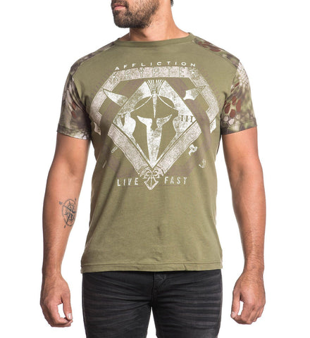 Affliction Men's Leonidas Graphic T-Shirt