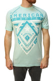 American Fighter Men's Crossroads Handcrafted Graphic T-Shirt