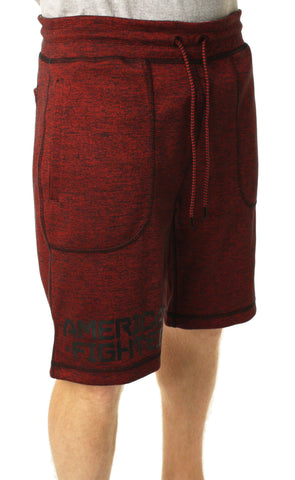 American Fighter Men's Money Ball Reversible Sweat Shorts