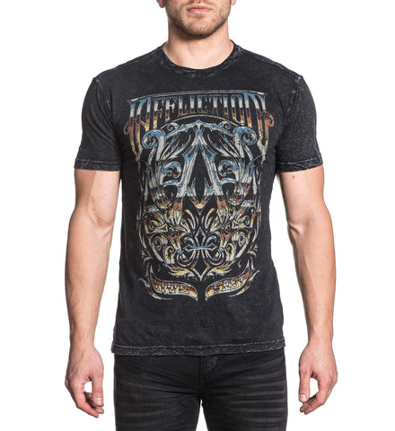 Affliction Men's A Frame Graphic T-Shirt