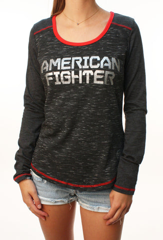 American Fighter Women's Prairie View Graphic T-Shirt