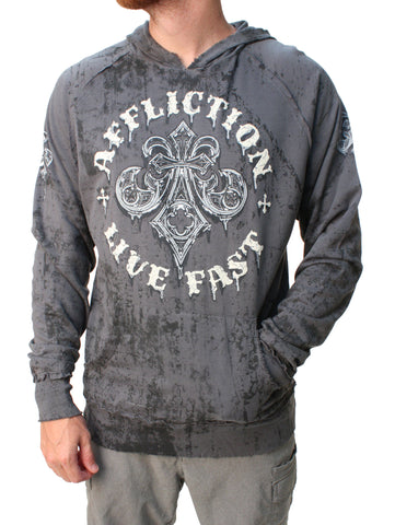 Affliction Men's Royale Rust Hoodie