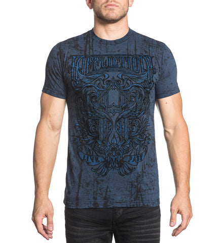 Affliction Men's Hypothesis Graphic T-Shirt