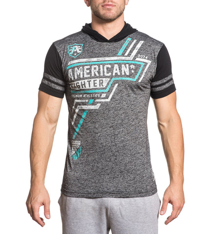 American Fighter Men's Bentley Hooded Graphic T-Shirt
