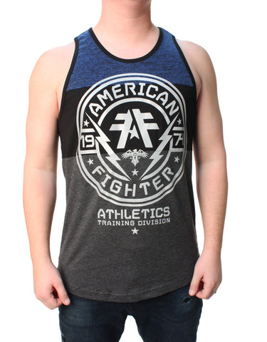 American Fighter Men's Langley Panel Tank Top