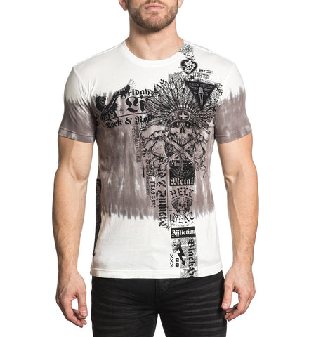 Affliction Men's Damage Case Graphic T-Shirt