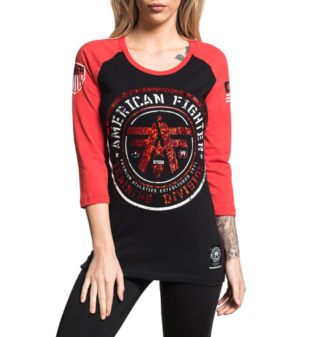American Fighter Women's Stokesdale Raglan Graphic T-Shirt