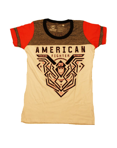 American Fighter Women's Brimley Scoop Panel Graphic T-Shirt