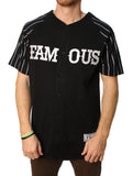 Famous Stars And Straps Men's Chainlink Knit Baseball Jersey
