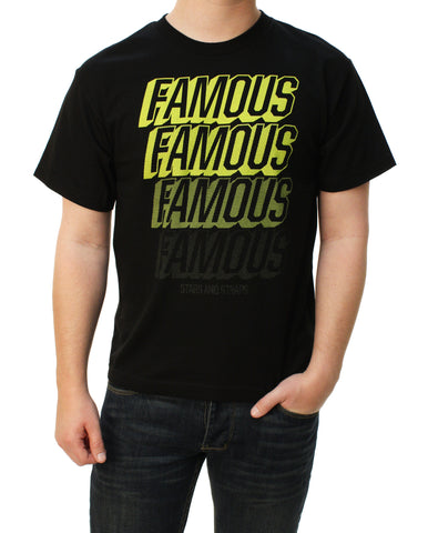 Famous Stars And Straps Boy's Famous Fader Youth Graphic T-Shirt