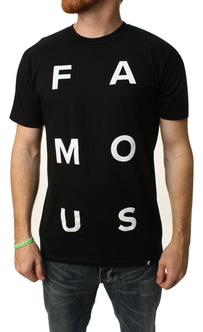 Famous Stars & Straps Men's Stacked Graphic T-Shirt