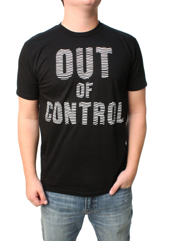 Famous Stars And Straps Men's Out Of Control Graphic T-Shirt