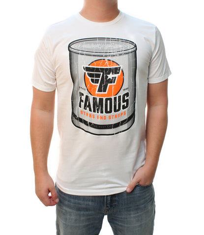 Famous Stars And Straps Men's Fast Life Can Graphic T-Shirt