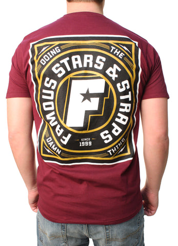 Famous Stars And Straps Men's Strike It Graphic T-Shirt