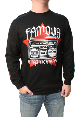 Famous Stars And Straps Men's Noise Graphic T-Shirt