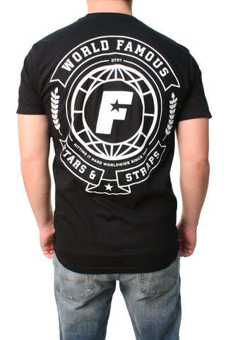 Famous Stars And Straps Men's World FMS Graphic T-Shirt