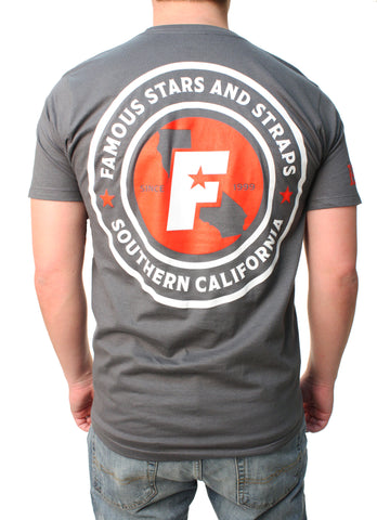Famous Stars And Straps Men's FMS Local Graphic T-Shirt