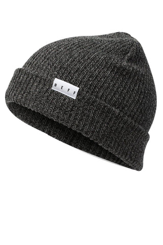 Neff Unisex Fold Heather Beanie Hat