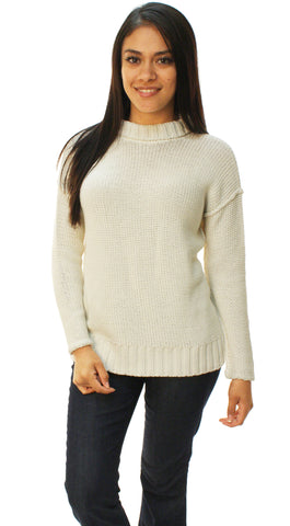Lauren By Ralph Lauren Women's Cable Knit Pullover Sweater